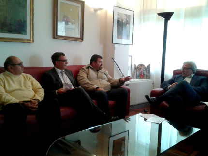 il presidente Marche Spacca incontra i rappresentanti dei balneari del SIB