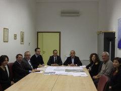 Incontro Presidenti D'Erasmo e Cesetti su ricostruzione ponte sull'Aso