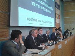 Spacca alla Conferenza di Rimini sulla Macroregione Adriatico-Ionica