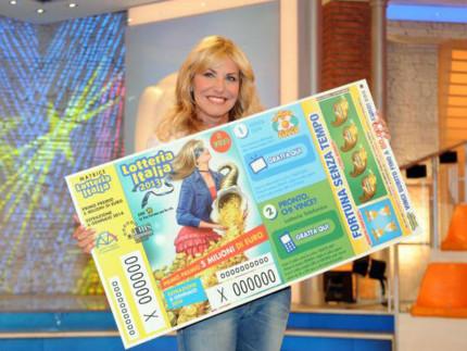 Antonella Clerici, madrina della Lotteria Italia 2015