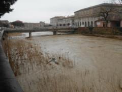 Il fiume Misa a Senigallia