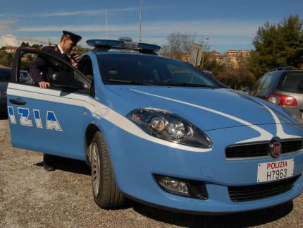 Auto della Polizia di Ancona