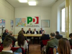 Conferenza stampa PD
