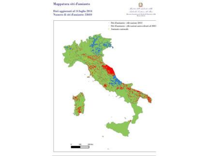 Mappa Amianto Italia