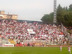 Maceratese promossa in Lega Pro: festa all'Helvia Recina