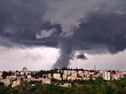 Maltempo e temporali a Macerata