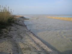 La foce del fiume Chienti