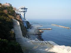 Ancona: la scalinata del Passetto (fonte Wikipedia)