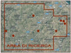 L'area di ricerca degli idrocarburi individuata dalla Mac Oil spa