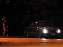 Prostituzione, prostituta in strada