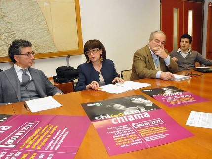 """La presentazione della campagna informativa """"Chi (si) ama…chiama"""" lanciata dalla Regione Marche"""