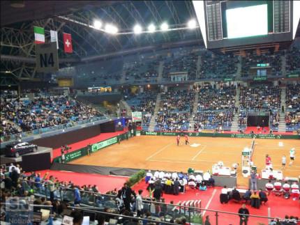 Pubblico dell'Adriatic Arena