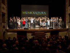 I finalisti del festival Musicultura al teatro Persiani di Recanati