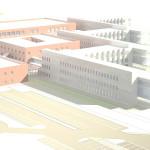 Rendering nuovo ospedale di Fermo