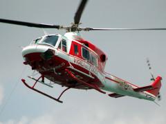 L'elicottero dei Vigili del Fuoco, ricerche, 115
