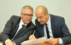 Luca Ceriscioli e Fabrizio Cesetti