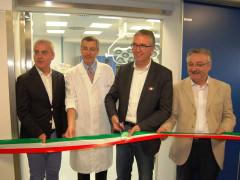 L'inaugurazione del Laboratorio di elettrofisiologia cardiologica dell'ospedale di Macerata