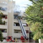Incendio edficio ad Ancona
