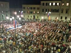 Inaugurazione piazza Garibaldi a Senigallia