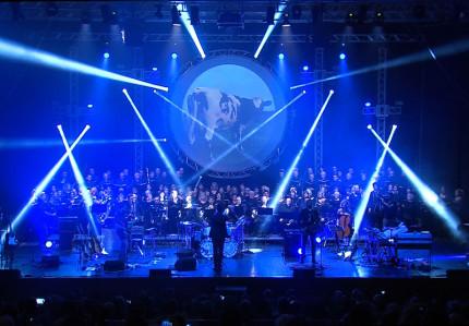 """Lo spettacolo """"Atom Heart Mother"""" portato in scena dai Pink Floyd Legend tra il 2012 ed il 2015"""