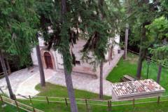 L'ex chiesa di San Sebastiano a Belforte del Chienti, dal 2007 sede del M.l.D.A.C., Museo Internazionale Dinamico di Arte Contemporanea