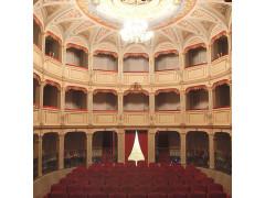 Il teatro di San Ginesio (Macerata)