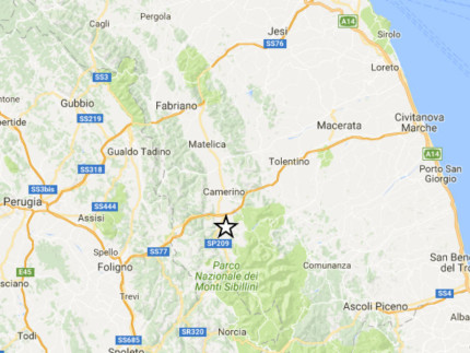 Sciame sismico tra ieri e oggi a Macerata, Perugia e Rieti