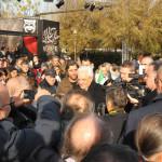 La visita del presidente della Repubblica Sergio Mattarella a Porto Recanati