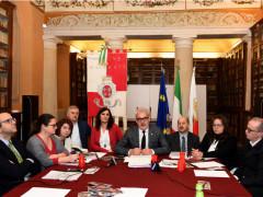 Conferenza di fine anno amministrazione Carancini