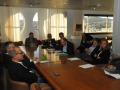 Incontro in Regione Marche tra il governatore Ceriscioli, i sindacati e le associazioni di categoria