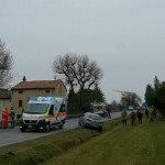 Incidente auto ciclista