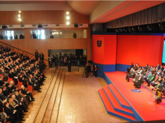 Mattarella in visita all'università di Camerino