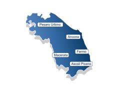 La regione Marche e le province marchigiane