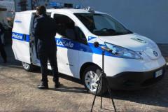 Il furgone per il monitoraggio ambientale in uso alla polizia locale di San Benedetto del Tronto