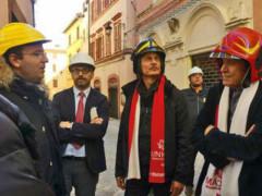 Gianni Morandi e Cesare Bocci a Camerino
