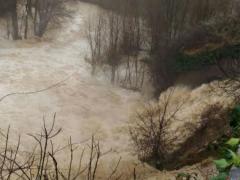 Forti piogge a San Severino Marche