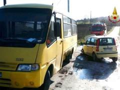 Incidente scuolabus a Castelfidardo