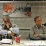 I vicepresidenti del CONI Marche Giuseppe Scorzoso (vicario) e Giovanni Torresi