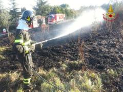Incendio a Fontescodella