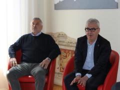 Il sindaco Romano Carancini