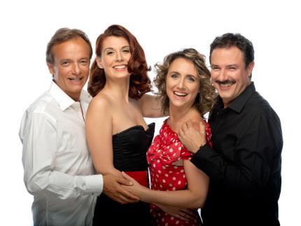 Il cast di Serial Killer per Signora. Foto di Marco D'Elia