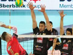 Azione della Lube contro il Perugia