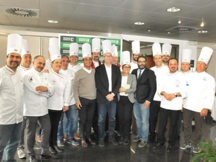 L'Unione regionale Cuochi Marche ha incontrato il presidente della Regione Ceriscioli