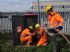 Avviati i lavori per la fibra ottica a Monteprandone