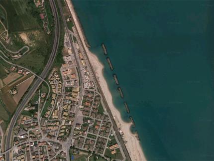 Il litorale di Marina di Altidona