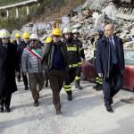 Pescara Del Tronto - strada di accesso al paese - 15-12-2016