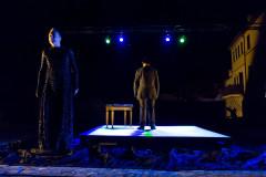 Lo spettacolo della Piccola Compagnia Dammacco al Festival NotteNera 2017 a Serra de' Conti: foto di Lorenzo Fabbri