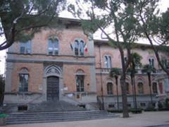 """scuola a Grottammare, in via Garibaldi, l'edificio scolastico """"Giuseppe Speranza"""""""