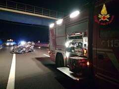 Incidente lungo l'A14 all'altezza di Porto Recanati