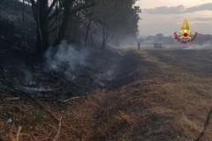 "Incendio a Jesi sulla superstrada ""SS.76"""